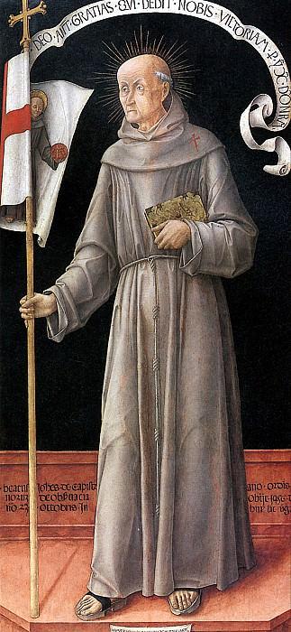 ВИВАРИНИ БАРТОЛОМЕО - Св. Иоанн Капистранский.. Louvre (Paris)