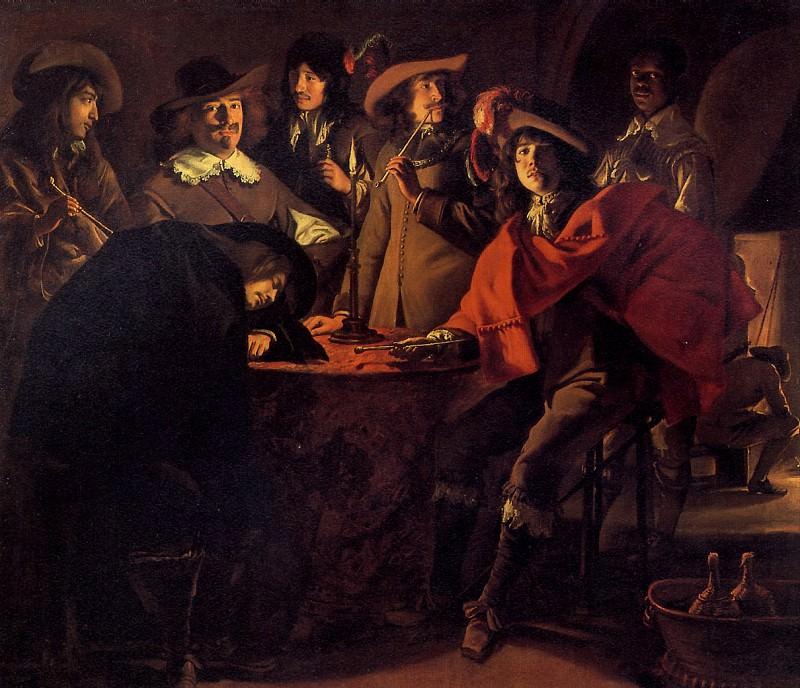 ЛЕНЕН - Караульная, 1643.. Louvre (Paris)