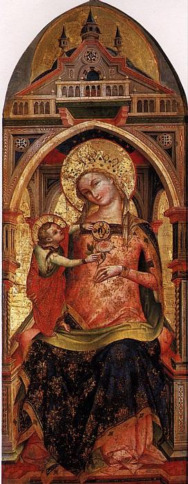 ВЕНЕЦИАНО ЛОРЕНЦО - Мадонна с младенцем.. Louvre (Paris)