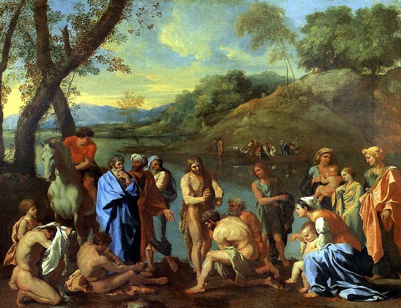 ПУССЕН НИКОЛА - Св. Иоанн Креститель.. Louvre (Paris)