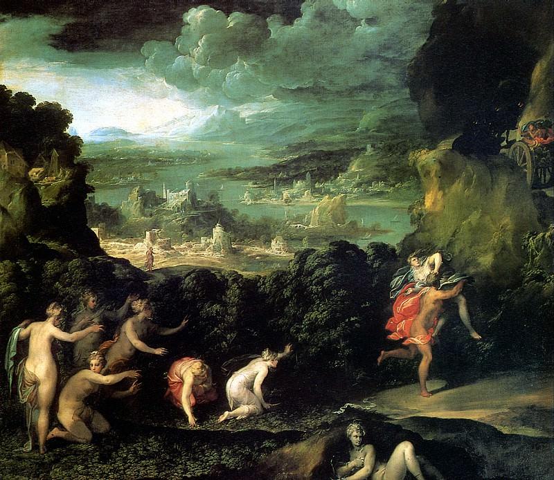 ДЕЛЬ АББАТЕ НИККОЛО - Похищение Прозерпины.. Louvre (Paris)