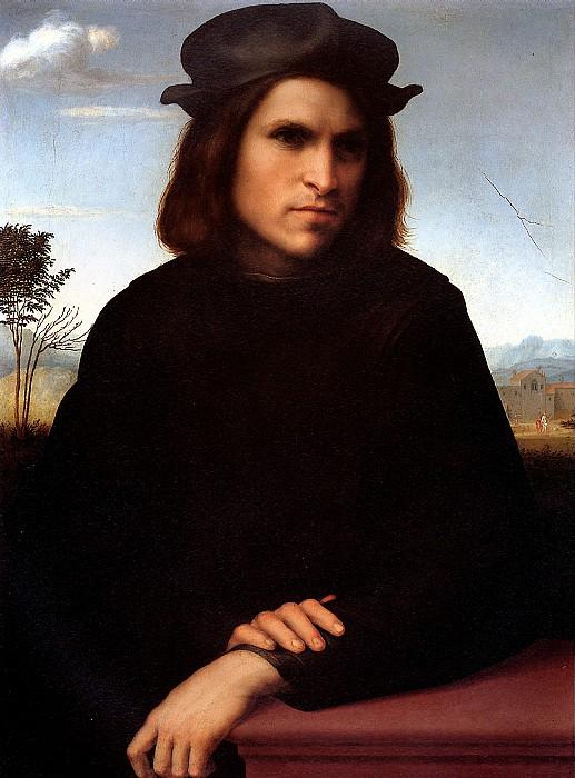 ФРАНЧАБИДЖО ФРАНЧЕСКО - Мужской портрет.. Louvre (Paris)