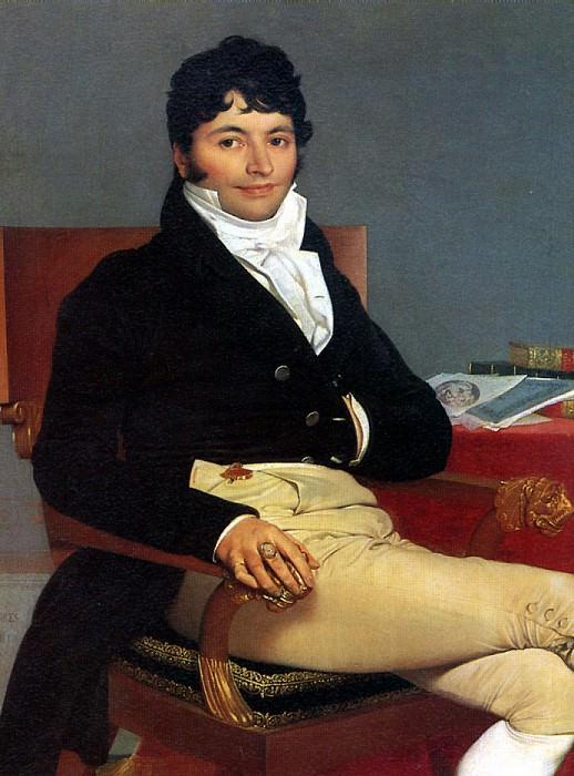 ЭНГР ЖАН ОГЮСТ ДОМИНИК - Филибер Ривьер, 1805.. Louvre (Paris)