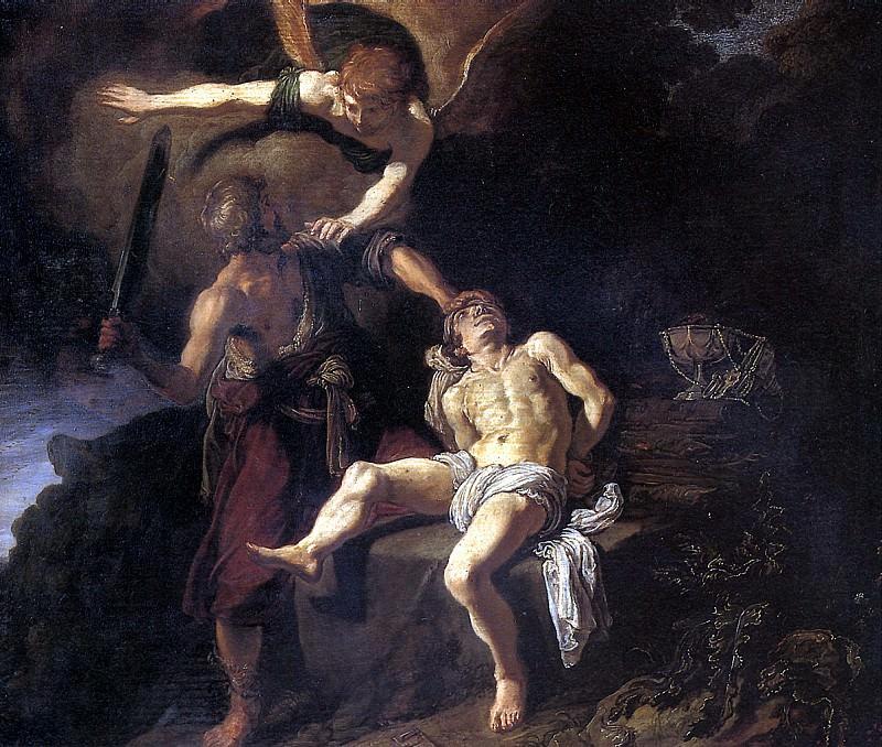 ЛАСТМАН ПИТЕР - Жертвоприношение Авраама, 1616.. Лувр (Париж)