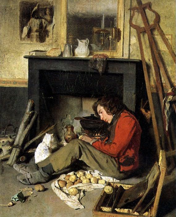 ТАССАР ОКТАВ - Мастерская художника, 1845.. Louvre (Paris)