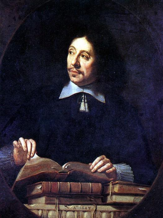 ШАМПЕНЬ ФИЛИПП ДЕ (предполагаемый автор) - Мужской портрет, 1650.. Louvre (Paris)