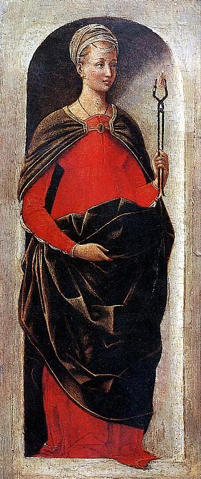 РОБЕРТИ ЭРКОЛЕ ДЕ - Св. Аполлония.. Louvre (Paris)