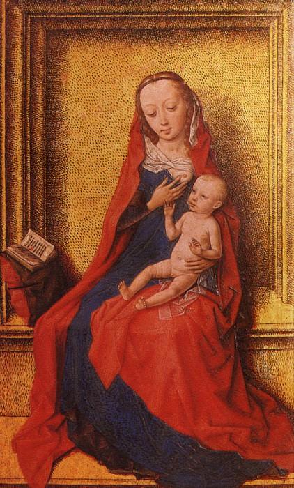 БАУТС ДИРК - Богоматерь с младенцем.. Louvre (Paris)