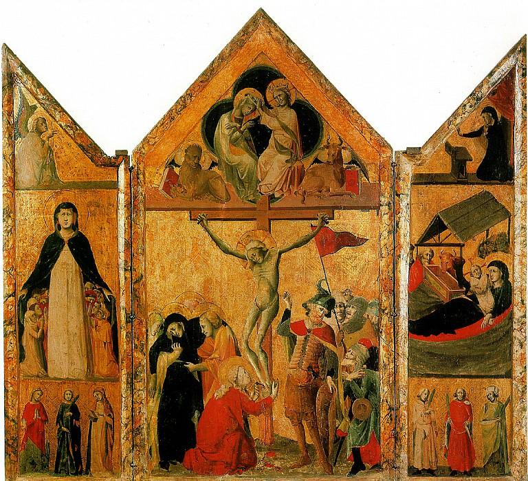 ШКОЛА ЛАЦИУМА - Св. Франциск Ассизский.. Louvre (Paris)