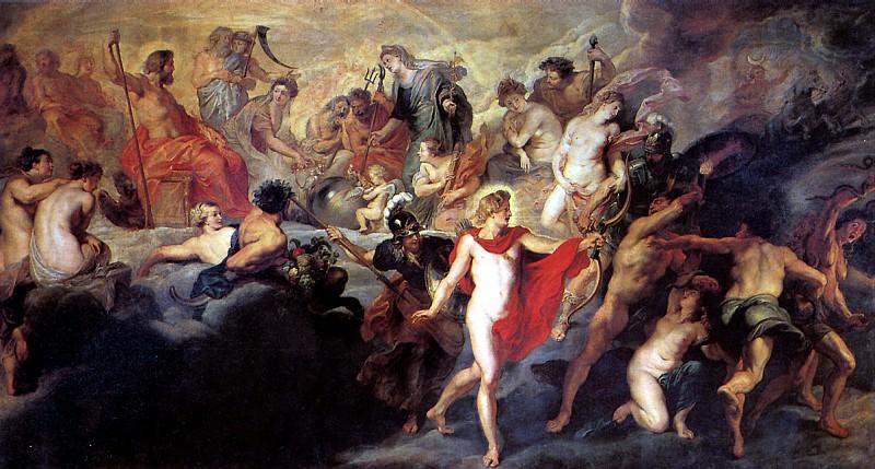 РУБЕНС ПИТЕР ПАУЭЛ - Совет богов.. Лувр (Париж)
