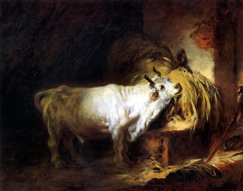 ФРАГОНАР ЖАН ОНОРЕ - Белый бык.. Louvre (Paris)
