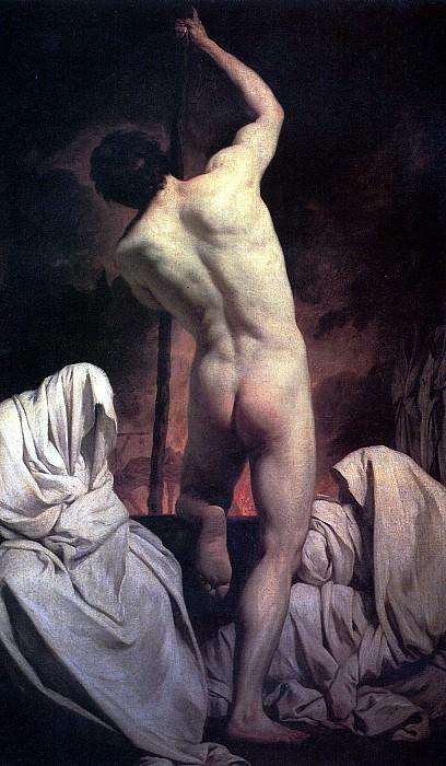 СУБЛЕЙРА ПЬЕР - Харон, плывущий в царство теней.. Louvre (Paris)