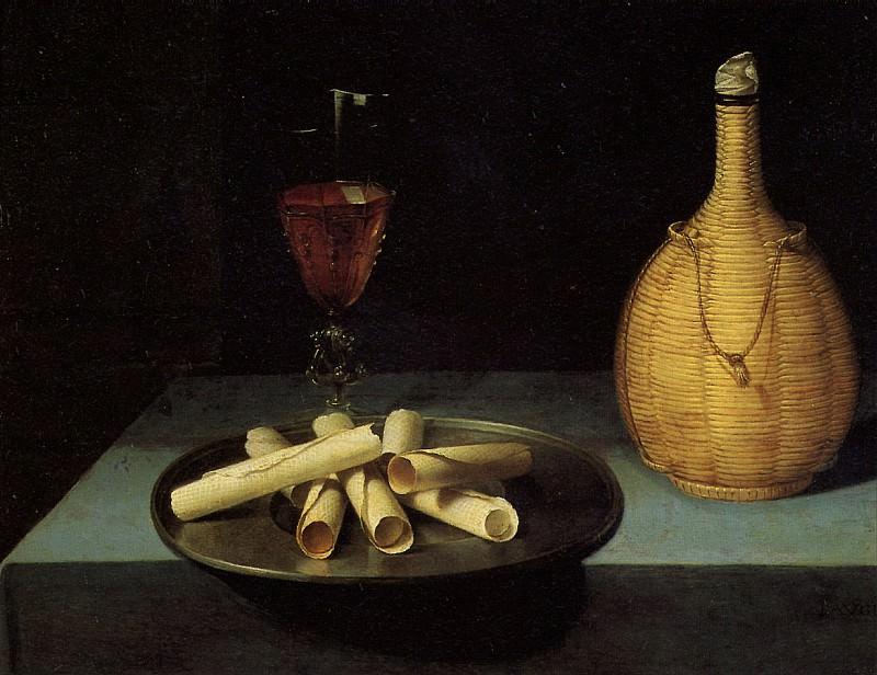 БОЖЕН ЛЮБЕН (предполагаемый автор) - Поднос с вафлями.. Louvre (Paris)