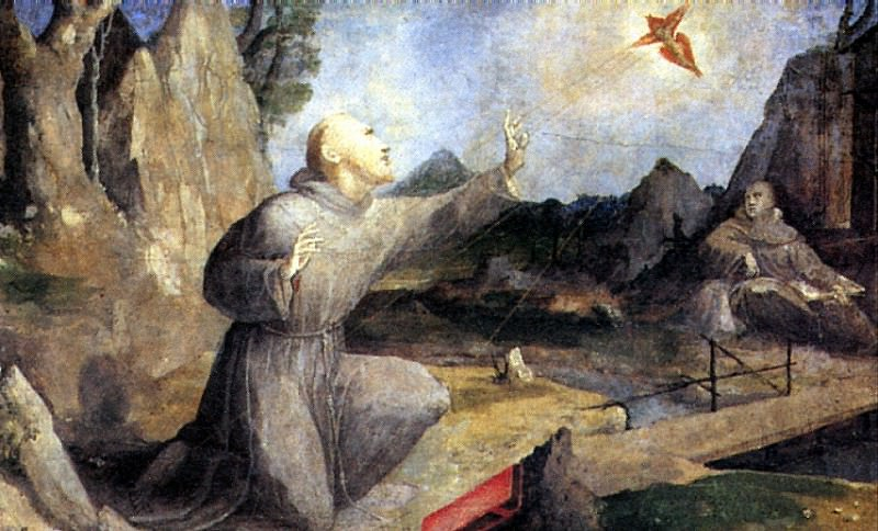 БЕККАФУМИ ДОМЕННКО - Св. Франциск, получающий стигматы.. Louvre (Paris)