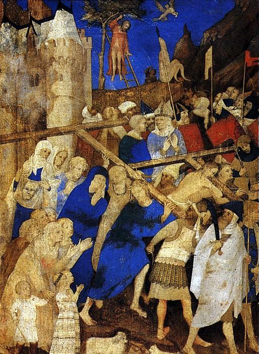 ЭДЕН ЖАКМАР ДЕ - Несение креста.. Louvre (Paris)