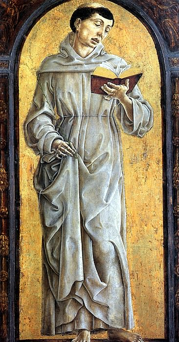 ТУРА КОЗИМО - Св. Антоний Падуанский.. Louvre (Paris)