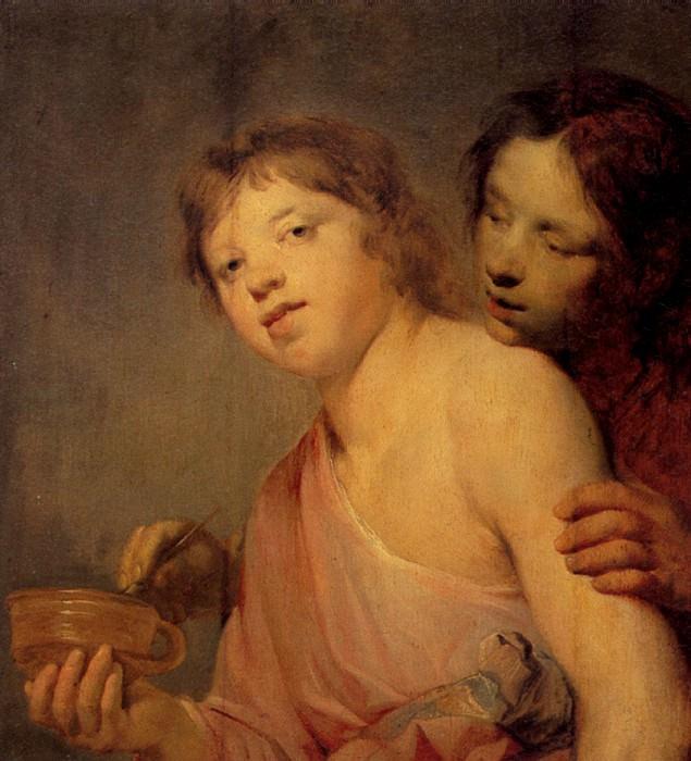 ДЕ ГРЕББЕР ПИТЕР - Урок ритма.. Louvre (Paris)