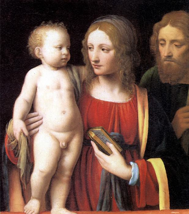 ЛУИНИ - Святое семейство.. Louvre (Paris)
