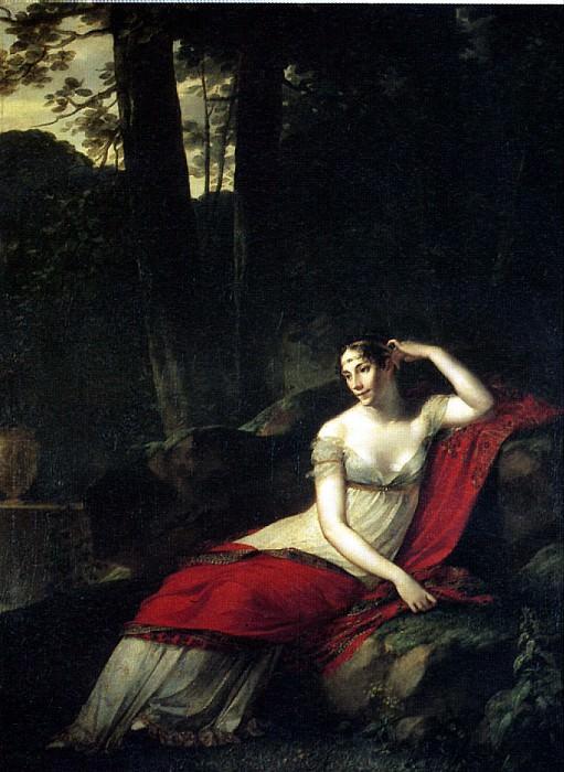 ПРЮДОН ПЬЕР ПОЛЬ - Императрица Жозефина, 1805.. Louvre (Paris)