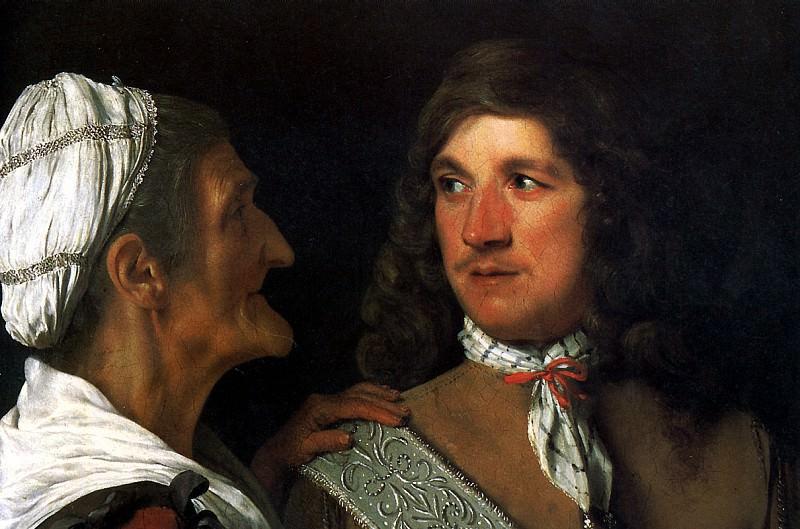 Михиль Свертс - Урок танцев, 1627.. Louvre (Paris)