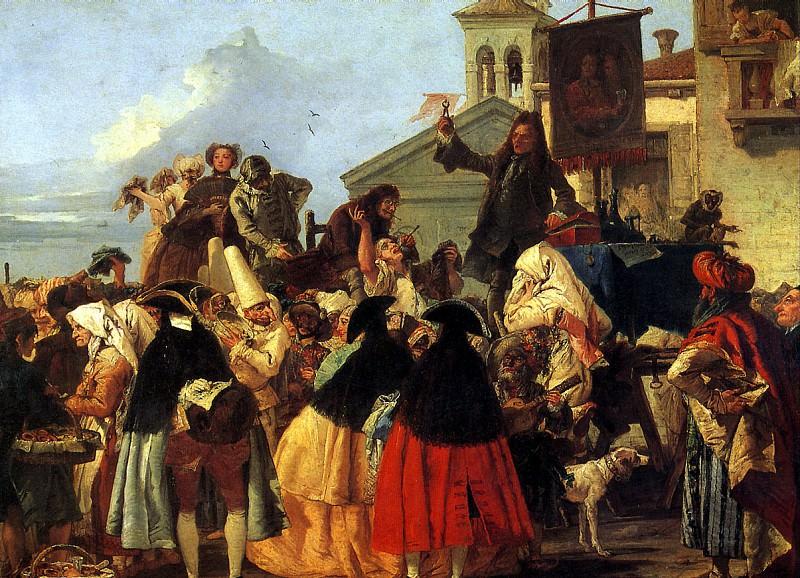 ТЬЕПОЛО ДЖОВАННИ ДОМЕНИКО - Зубодер, 1754.. Louvre (Paris)