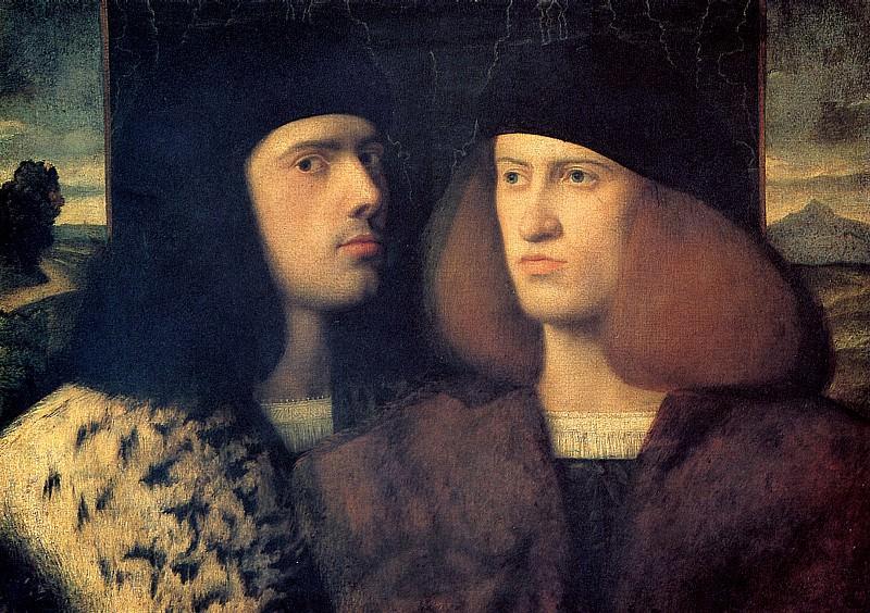 КАРИАНИ ДЖОВАННИ (предполагаемый автор) - Двое юношей.. Louvre (Paris)
