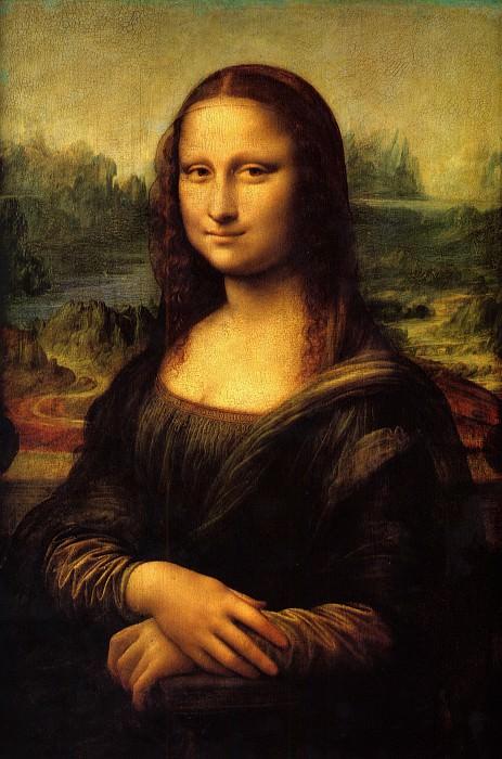 ЛЕОНАРДО - Портрет Монны Лизы, прозванный Джоконда, 1503-1506.. Louvre (Paris)