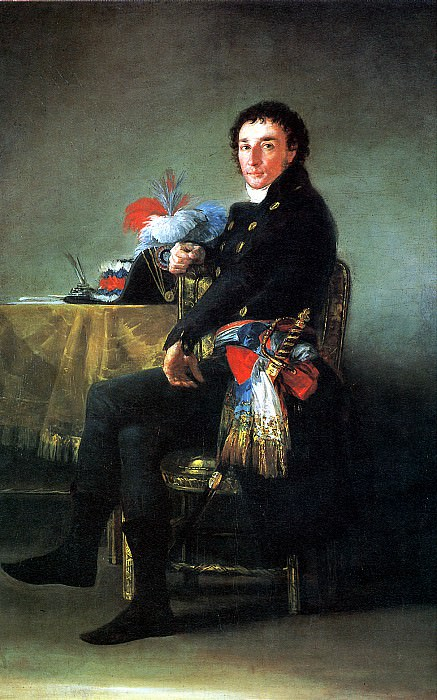 ГОЙЯ - Фердинанд Гиймарде, французский посол в Испании, 1798-1800.. Louvre (Paris)