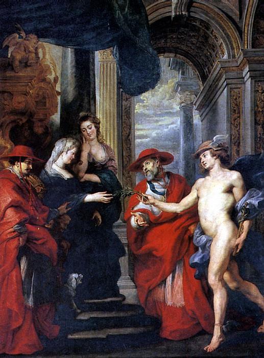 РУБЕНС ПИТЕР ПАУЭЛ - Ангулемский договор.. Louvre (Paris)