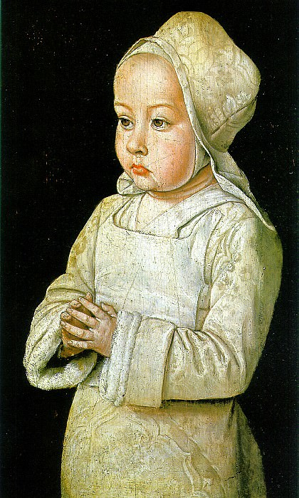 ХЭЙ ЖАН - Сюзан де Бурбон, или Дитя за молитвой.. Louvre (Paris)