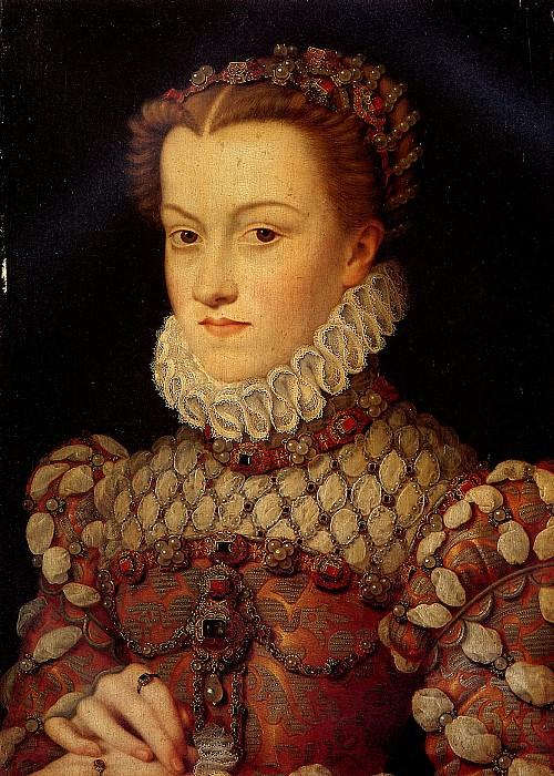 КЛУЭ ФРАНСУА - Елизавета Австрийская, королева Франции.. Louvre (Paris)