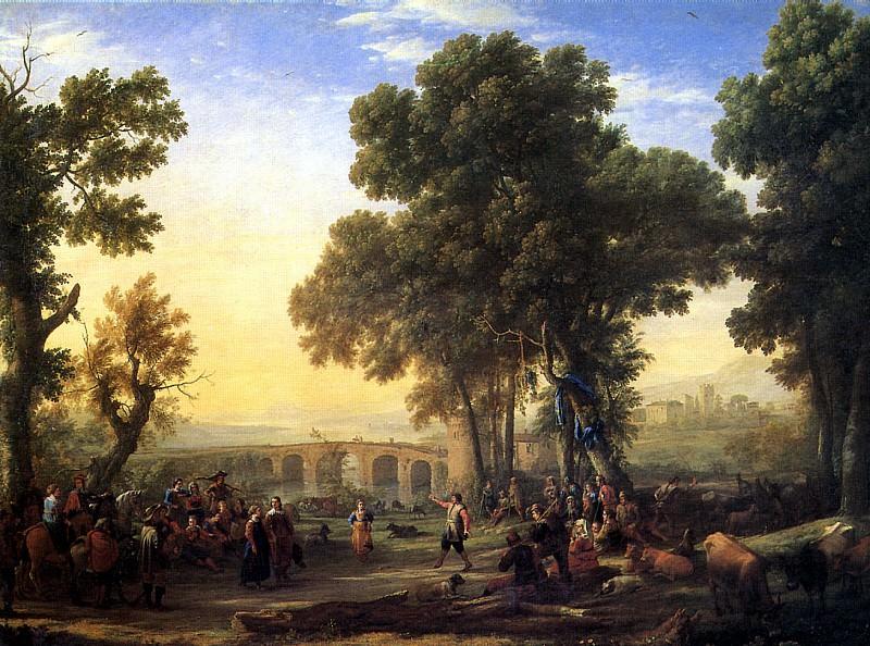 ЛОРРЕН - Сельский праздник, 1639.. Louvre (Paris)