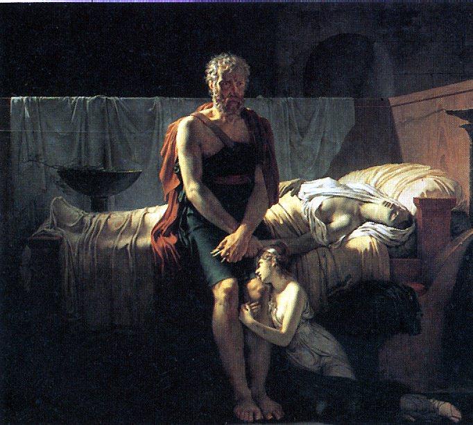 ГЕРЕН ПЬЕР НАРСИС - Возвращение Марка Секста, 1799.. Louvre (Paris)