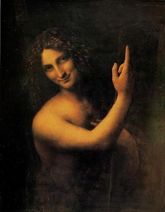ЛЕОНАРДО - Св. Иоанн Креститель, 1513-1516.. Louvre (Paris)