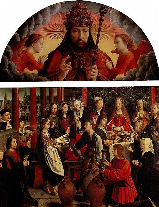 ДАВИД ГЕРАРД - Благословляющий Бог-Отец.. Louvre (Paris)
