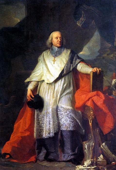 РИГО ГИАЦИНТ (В СОАВТОРСТВЕ С ШАРЛЕМ СЕВЕНОМ ДЕ ЛАПЕНЭ) - Жак Бенин Боссюэ, епископ Мо, 1702.. Louvre (Paris)