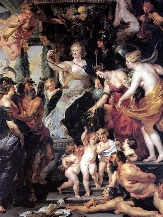 РУБЕНС ПИТЕР ПАУЭЛ - Счастье регентства.. Louvre (Paris)