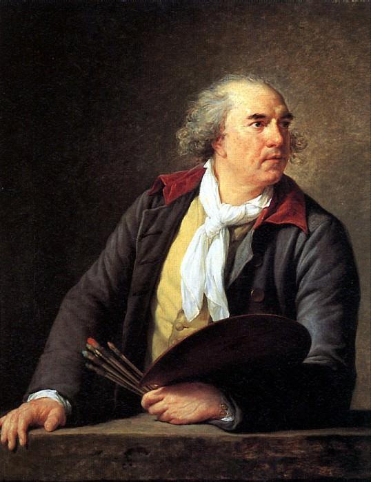 ВИЖЕ-ЛЕБРЕН ЛУИЗ ЭЛИЗАБЕТ - Художник Юбер Робер, 1788.. Louvre (Paris)