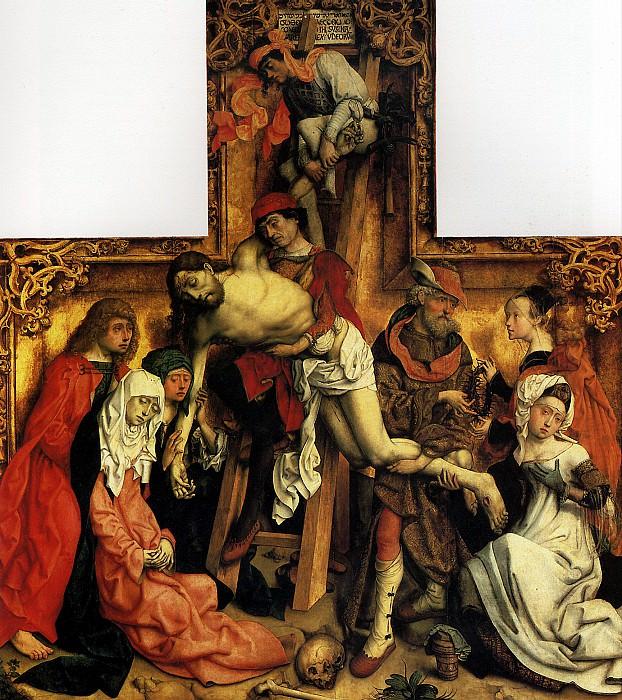 МАСТЕР СВ. ВАРФОЛОМЕЯ - Снятие с креста.. Лувр (Париж)