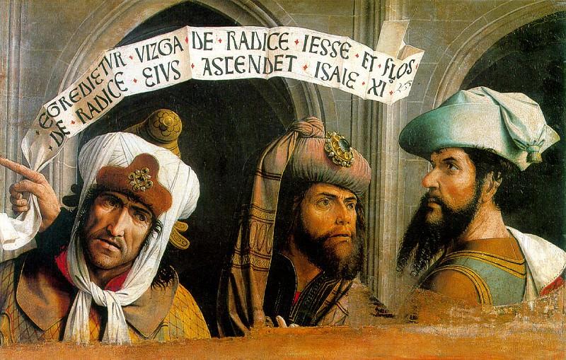 ПРОВАНСАЛЬСКАЯ ШКОЛА - Три пророка.. Louvre (Paris)