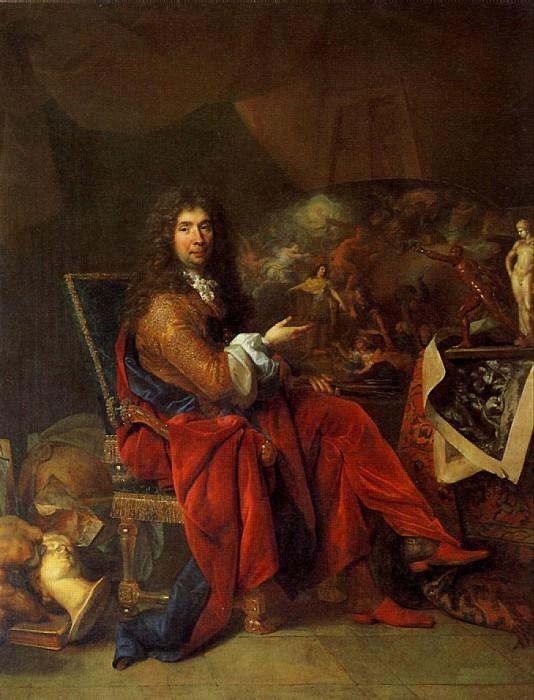 ЛАРЖИЛЬЕР НИКОЛА - Шарль Лебрен, живописец короля.. Louvre (Paris)