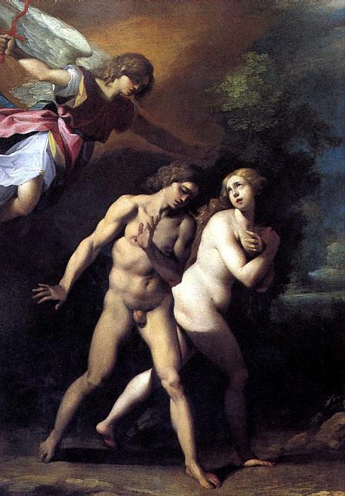 ЧЕЗАРИ ДЖУЗЕППЕ, ПРОЗВАННЫЙ КАВАЛЕР Д′АРПИНО - Изгнание Адама и Евы из Рая.. Louvre (Paris)