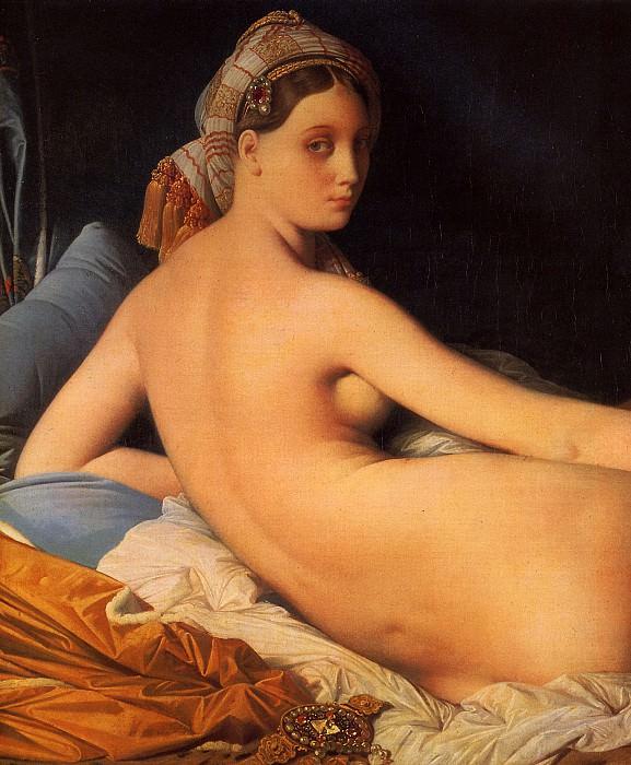 ЭНГР ЖАН ОГЮСТ ДОМИНИК - Большая одалиска, 1814.. Louvre (Paris)