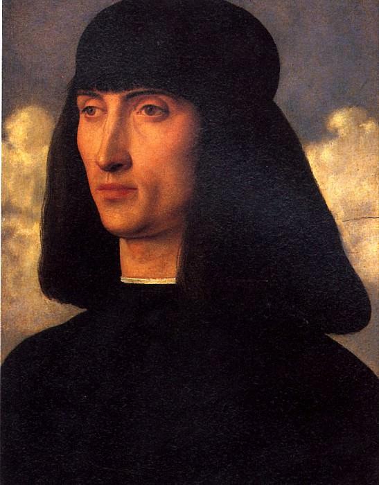 БЕЛЛИНИ ДЖОВАННИ - Мужской портрет.. Louvre (Paris)
