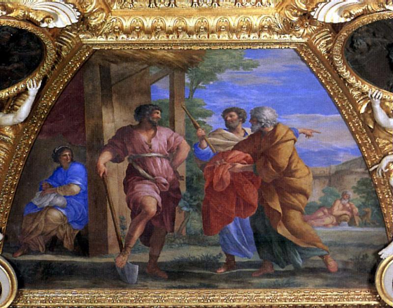 РОМАНЕЛЛИ ДЖОВАННИ ФРАНЧЕСКО - 1610-1662. Louvre (Paris)