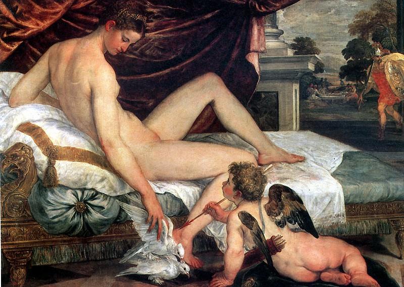 СУСТРИС ЛАМБЕРТ - Венера и Амур.. Louvre (Paris)
