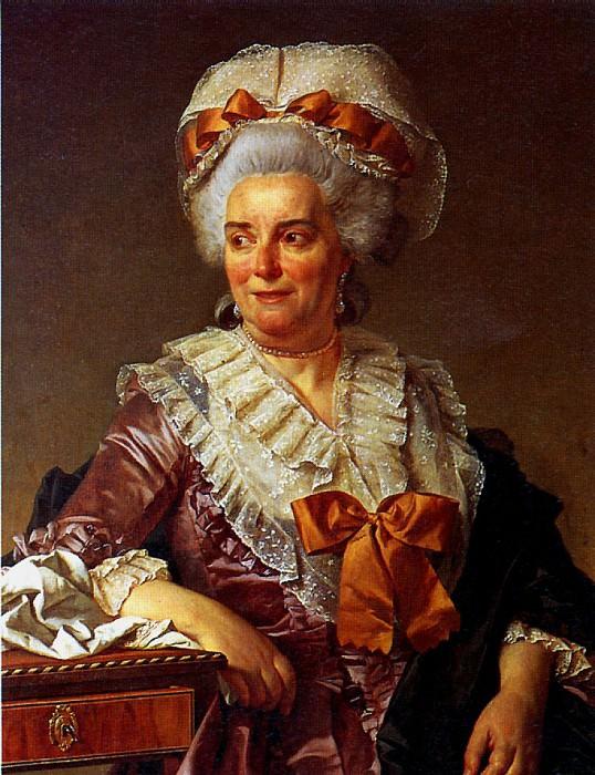 ДАВИД ЖАК ЛУИ - Мадам Пекуль, теща художника, 1784.. Лувр (Париж)