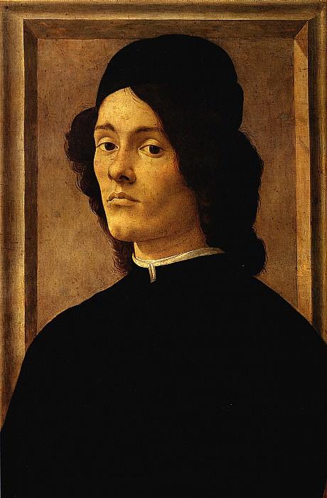 БОТТИЧЕЛЛИ - Мужской портрет.. Louvre (Paris)