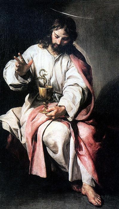КАНО АЛОНСО - Св. Иоанн Евангелист с чашей яда.. Louvre (Paris)