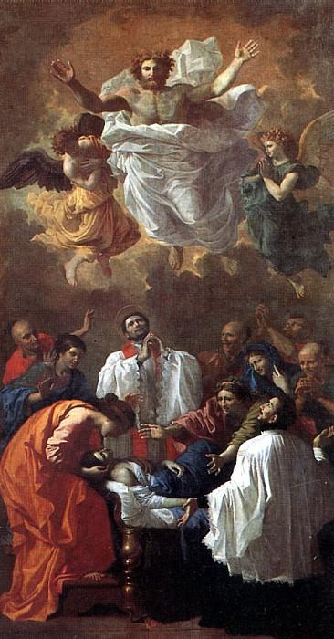 НИКОЛА ПУССЕН - Чудо св. Франциска Ксавье.. Louvre (Paris)